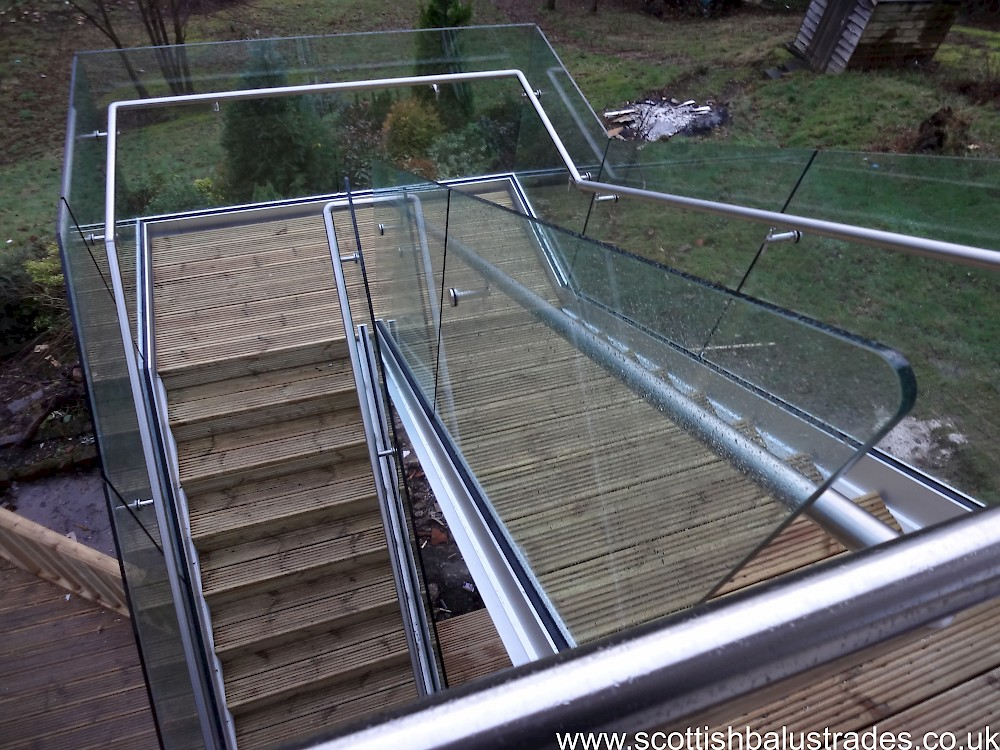 Glass balustrade systems scotland